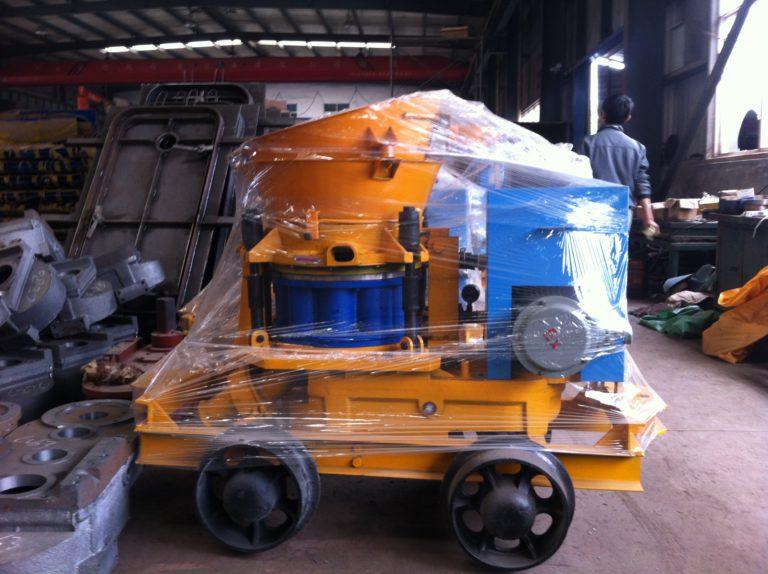 Wet and dry mix shotcrete machine Dry-mix concrete